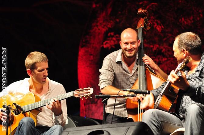 Stochelo Rosenberg Trio (Joel Locher, Sebastian Giniaux, Stochelo Rosemberg)